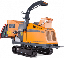 Woodchipping machine range