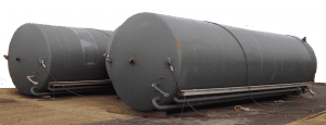 120,000 litre vertical liquid storage tanks