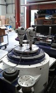 CCTV camera vibration testing