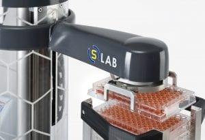 Pharmaceutical robot gripper